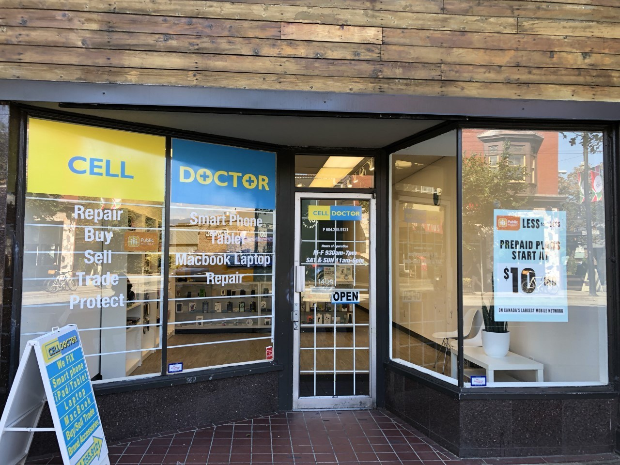 Cell Doctor Store front